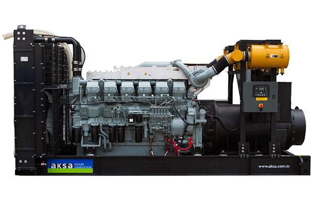 Дизельный генератор Aksa APD 1540M