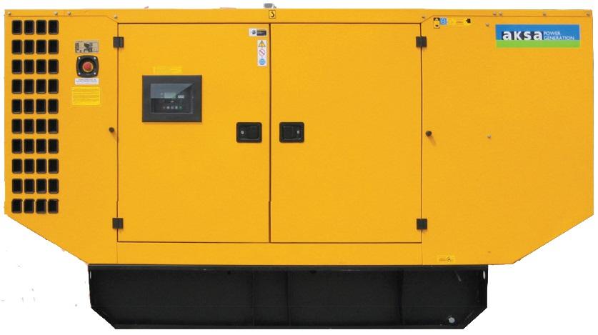 Дизельный генератор Aksa AJD-90 в кожухе