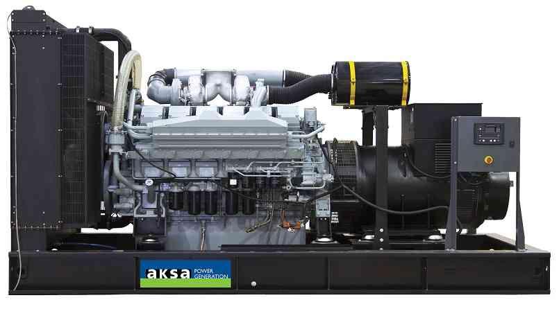 Дизельный генератор Aksa APD825M