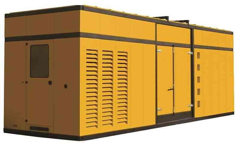 Дизельный генератор Aksa APD1650M в кожухе