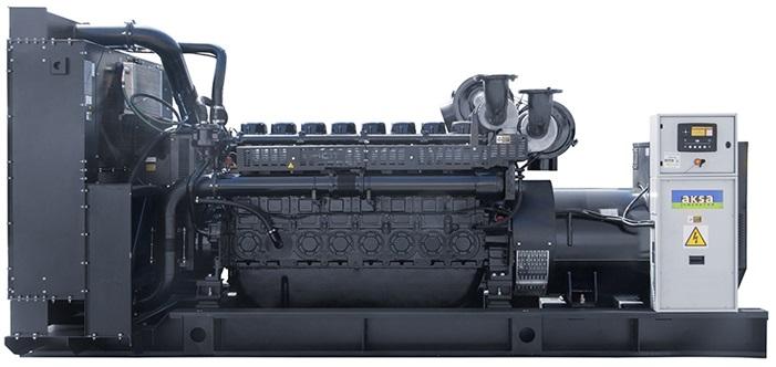 Дизельный генератор Aksa APD1250P