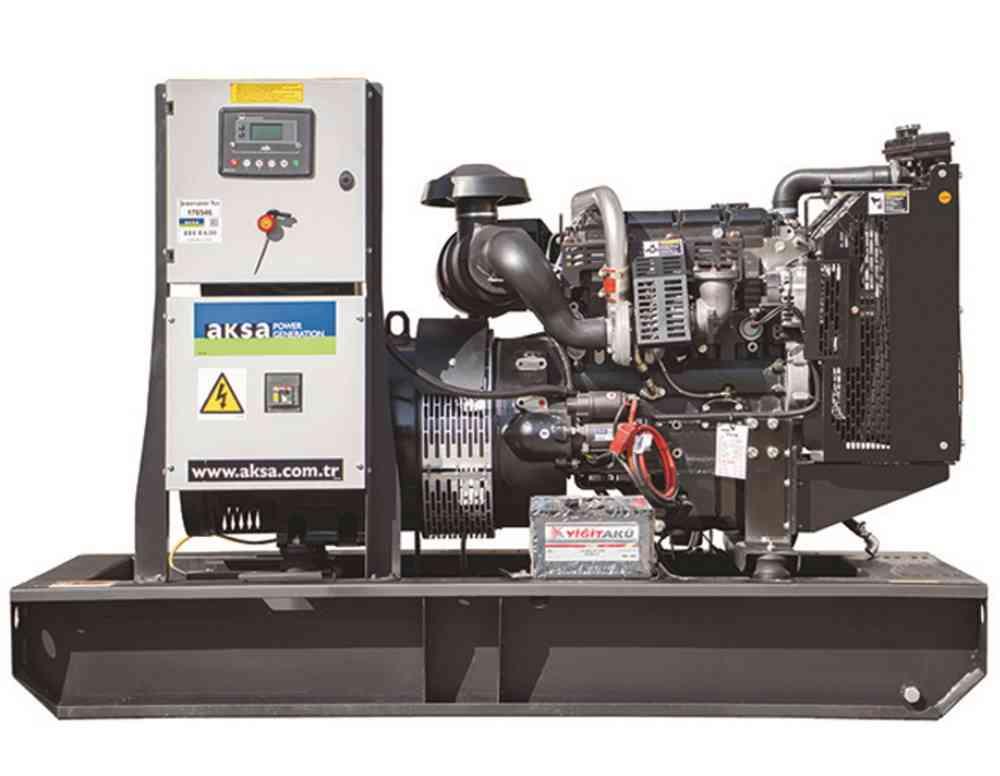 Дизельный генератор Aksa AP 66