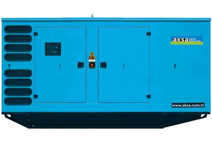 Газовый генератор Aksa ADG 350 в кожухе