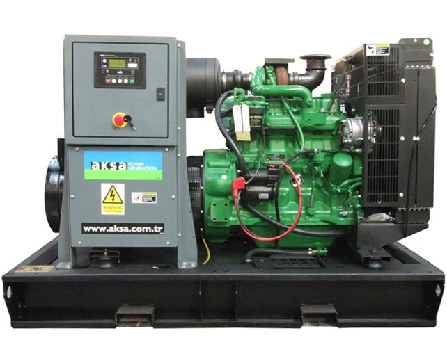 Дизельный генератор Aksa AJD 88