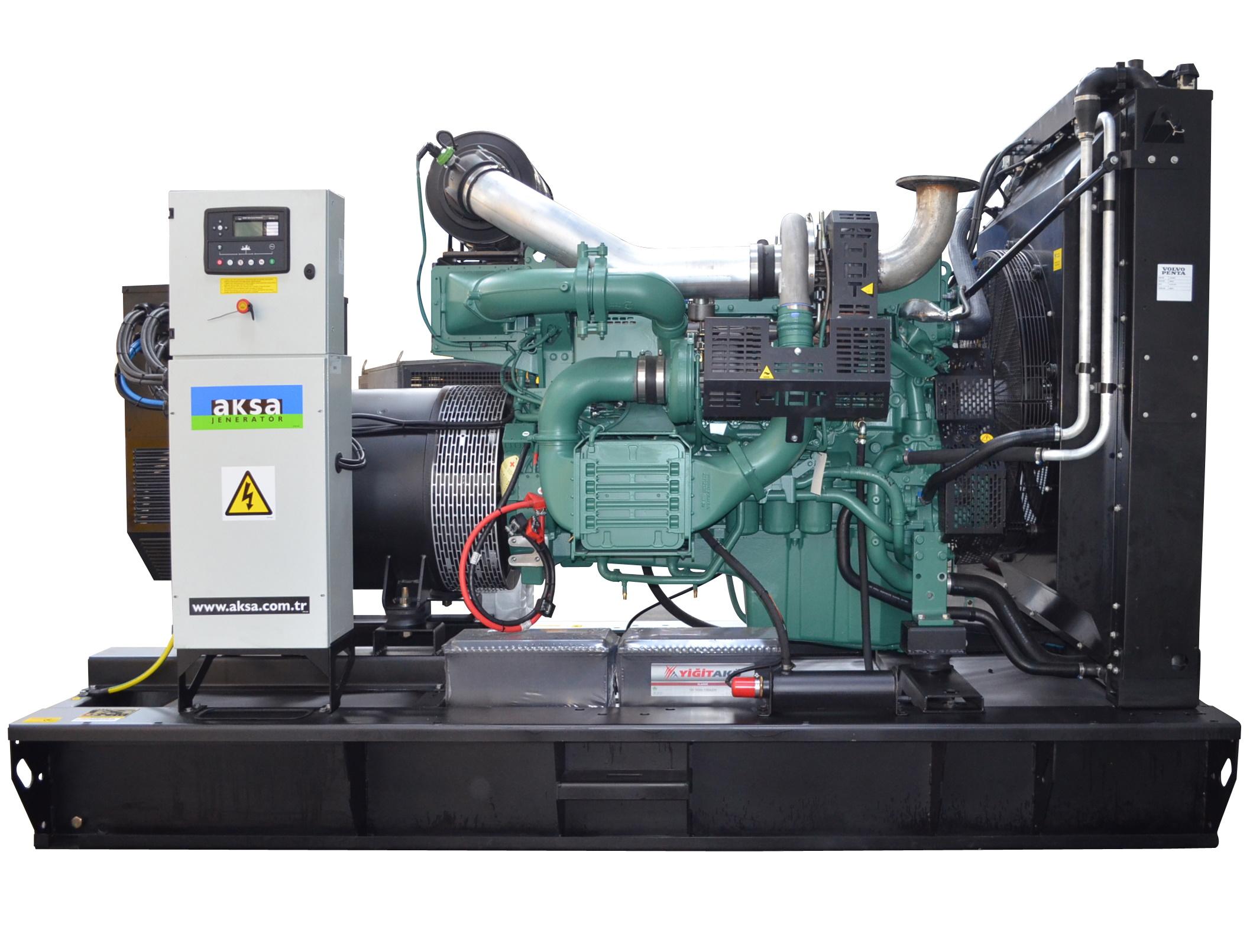 Дизельный генератор Aksa AVP-550