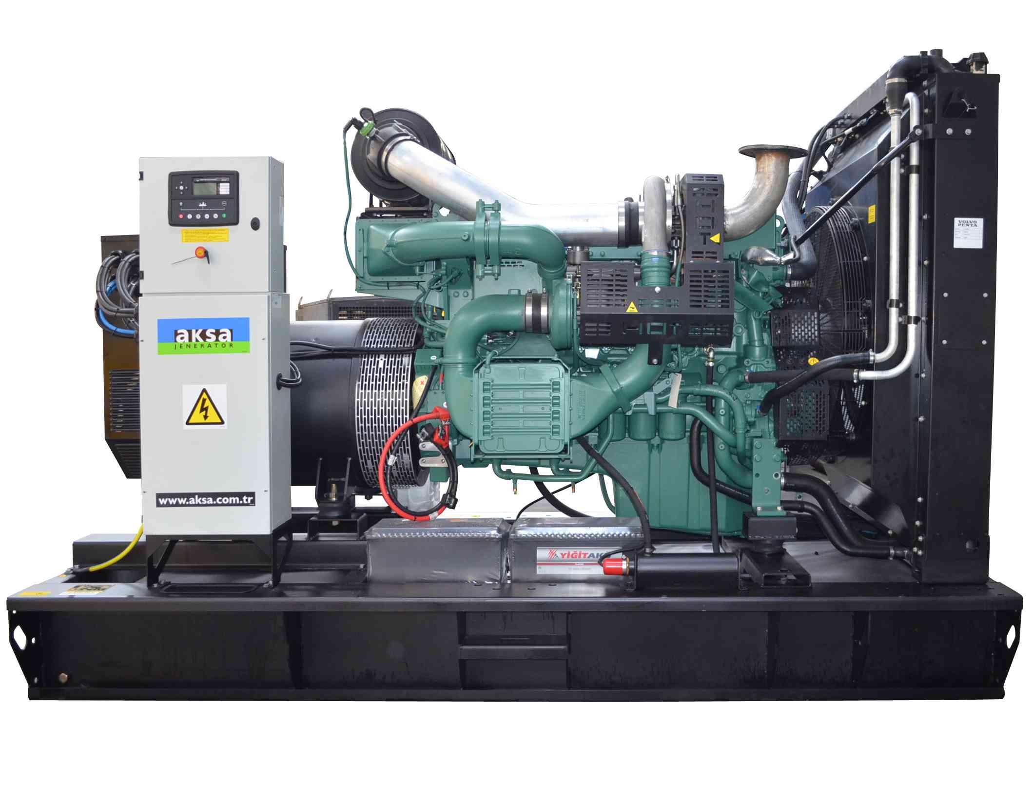 Дизельный генератор Aksa AVP-510