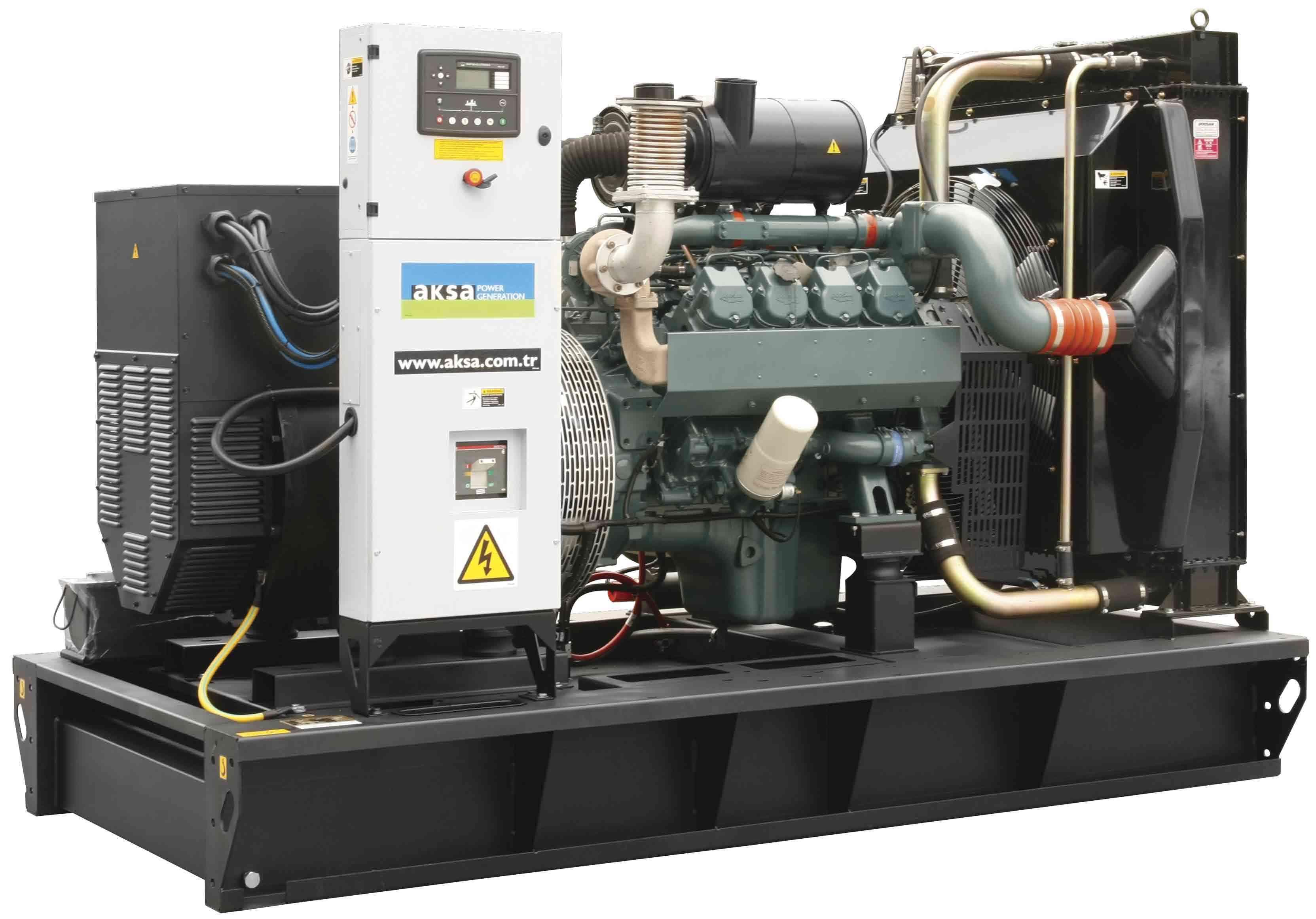 Дизельный генератор Aksa AD-750