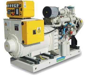 Судовой генератор Aksa ACM 150