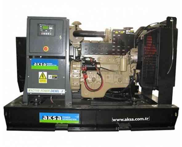 Дизельный генератор Aksa AC-110