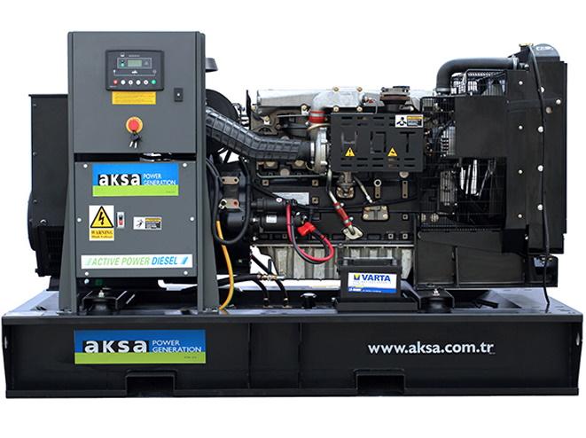Дизельный генератор Aksa APD110PE