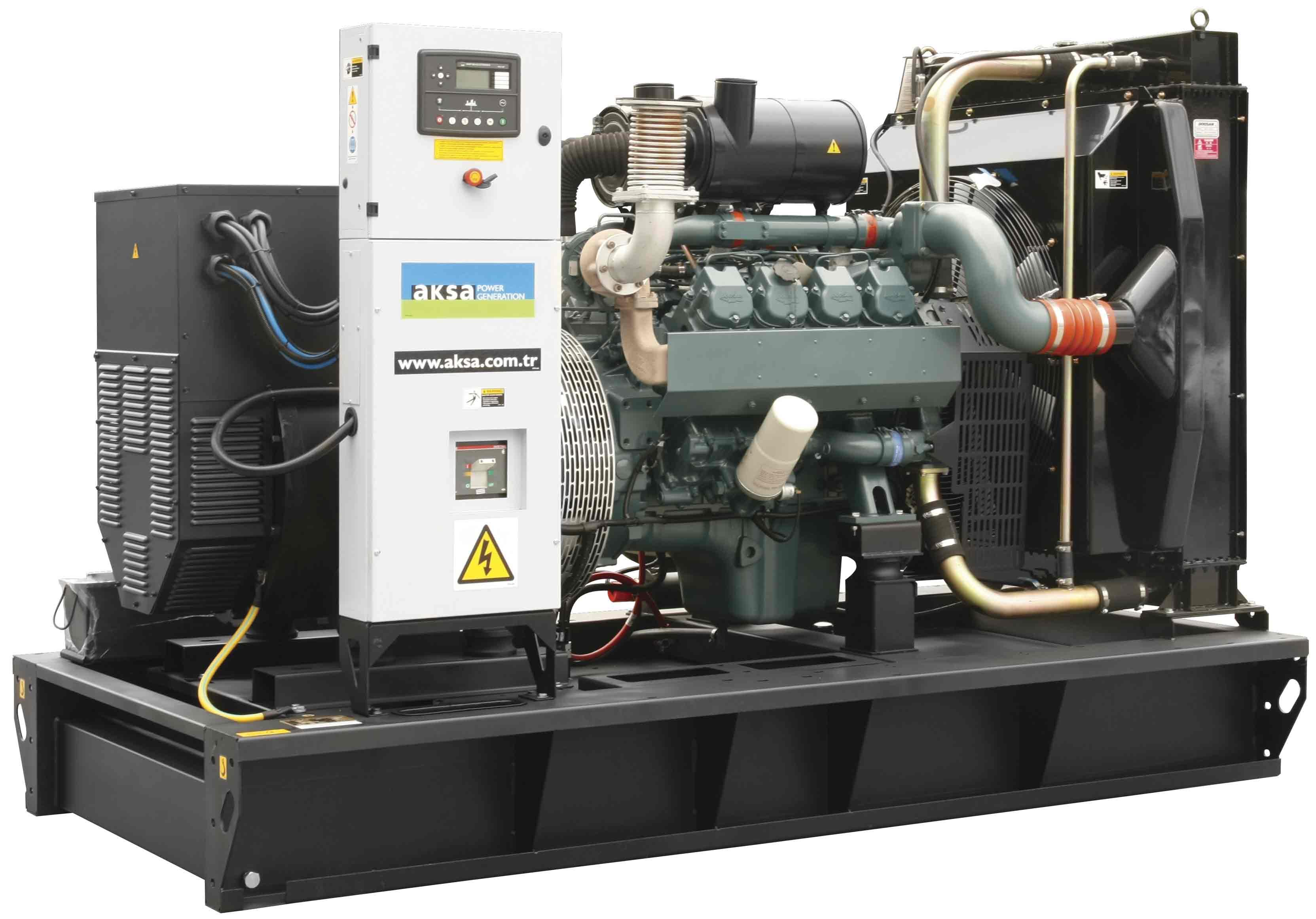 Дизельный генератор Aksa AD-185