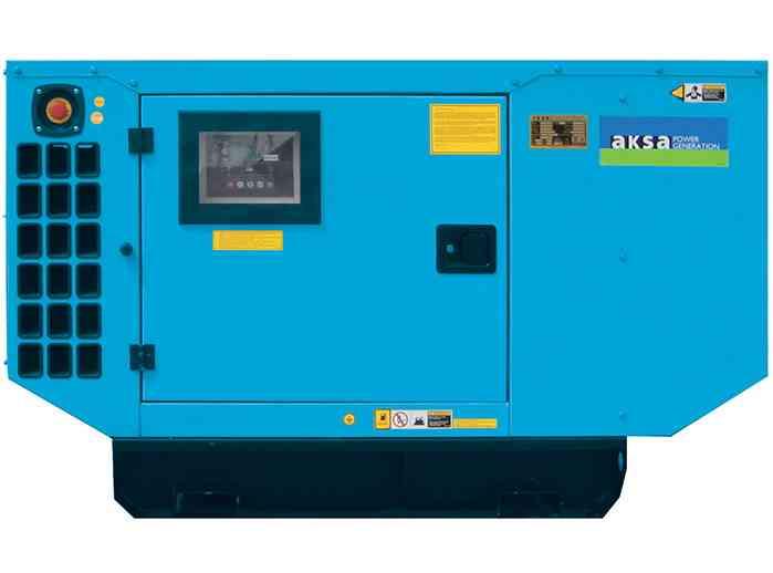 Газовый генератор Aksa APG 100 в кожухе
