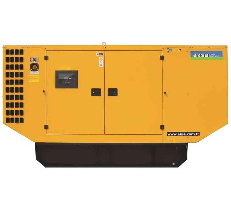 Дизельный генератор Aksa AP 50 в кожухе