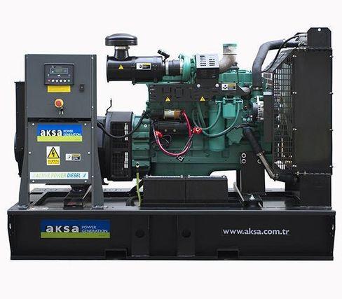 Дизельный генератор Aksa APD200C