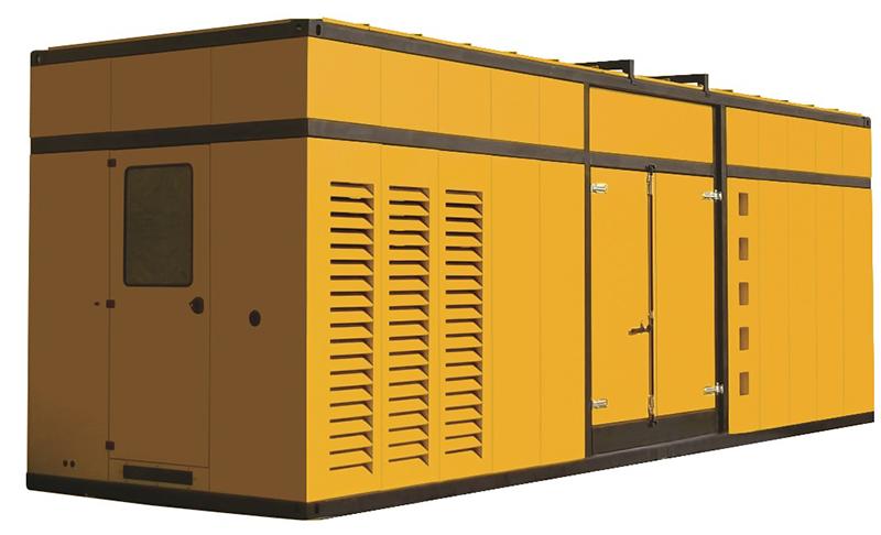 Дизельный генератор Aksa APD2500P в кожухе