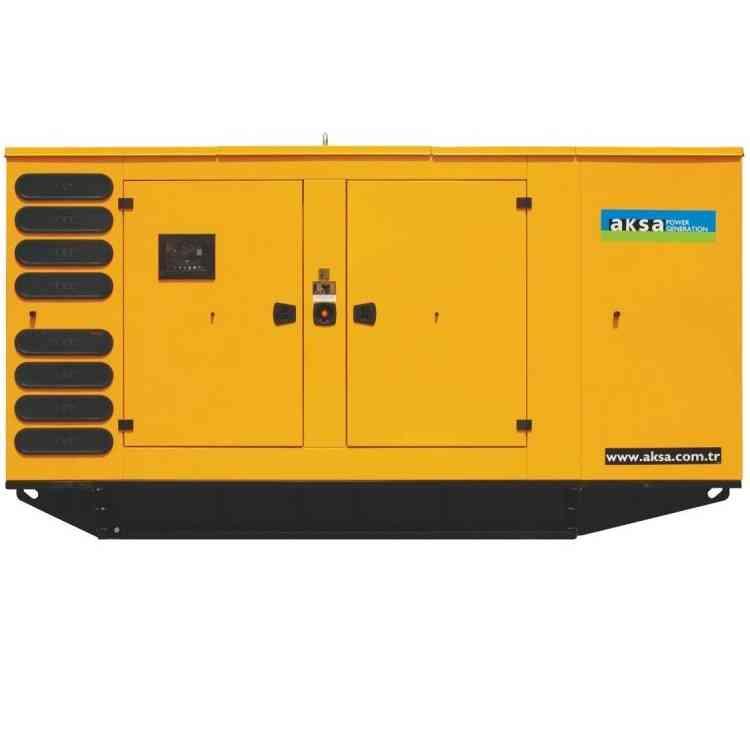 Дизельный генератор Aksa AP 385 в кожухе